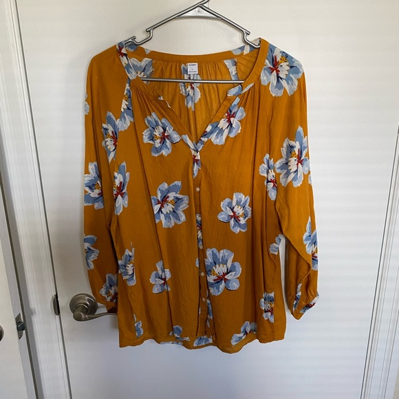 Floral shirt from Old Navy!